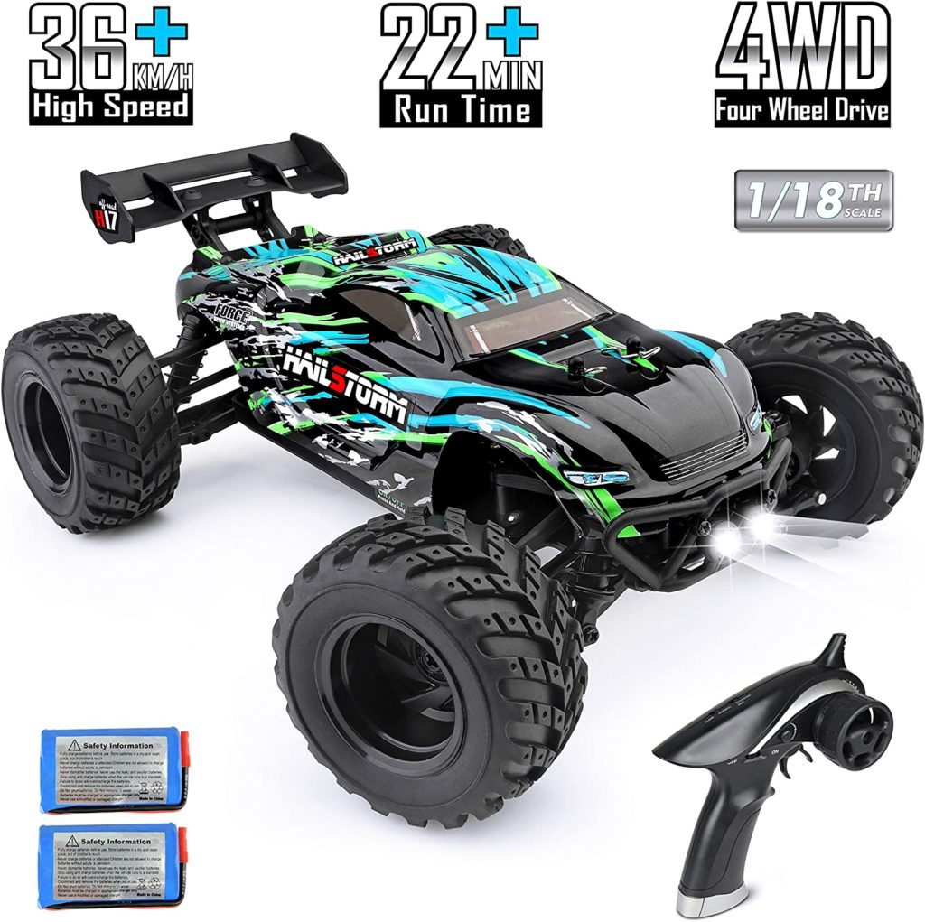 HAIBOXING 4WD 1:18 Scale Electric Waterproof Truggy