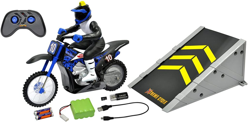 RC Xtreme Cycle Motorbike with VGA camera