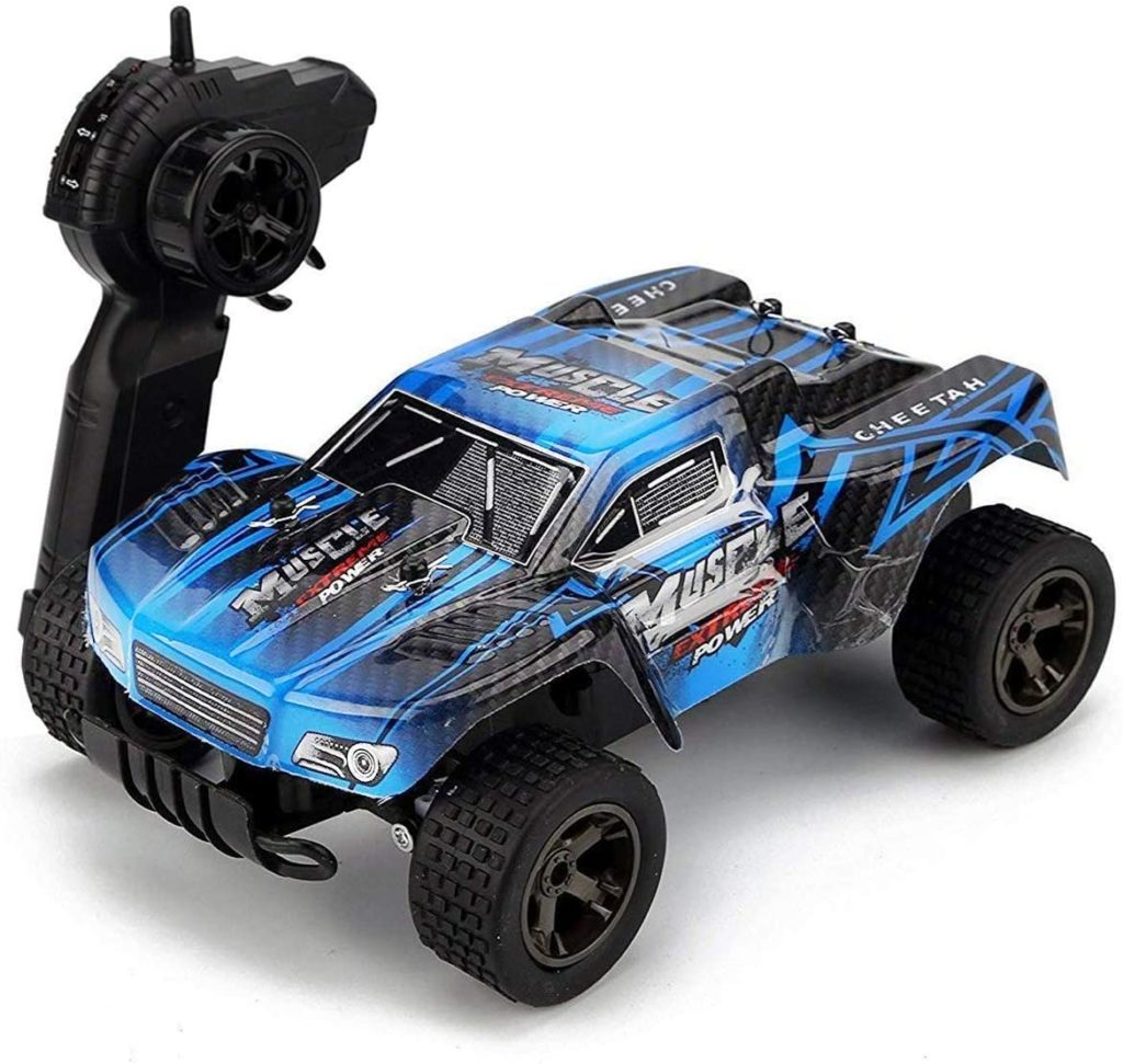 Rabing Remote Control Terrain 1: 18 Scale High Speed Off-Road Truck