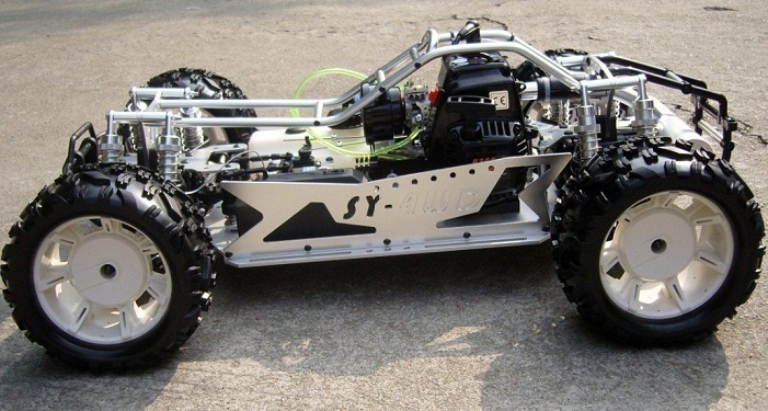 1/5 scale 4wd rc car