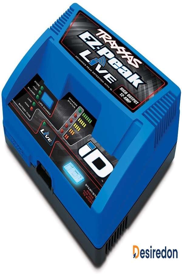 Traxxas 2971 EZ-Peak live 12 Amp NiMH/ LiPo fast charger with ID technology