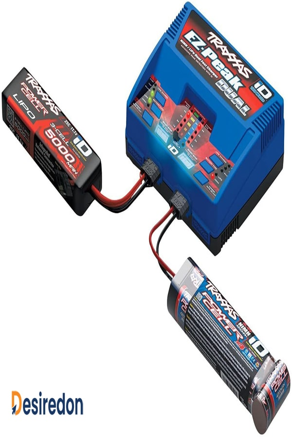 Traxxas 2972 EZ-Peak Plus 100 Watt NiMH LiPo Dual Charger with iD System
