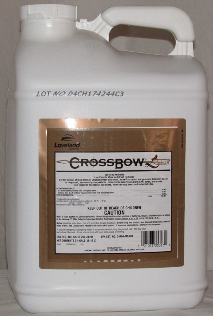 Dow Crossbow Herbicide Brush Killer