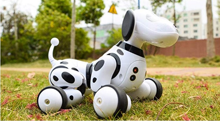 Full Moon Wireless Remote Control Smart Robot Dog Kids Toy