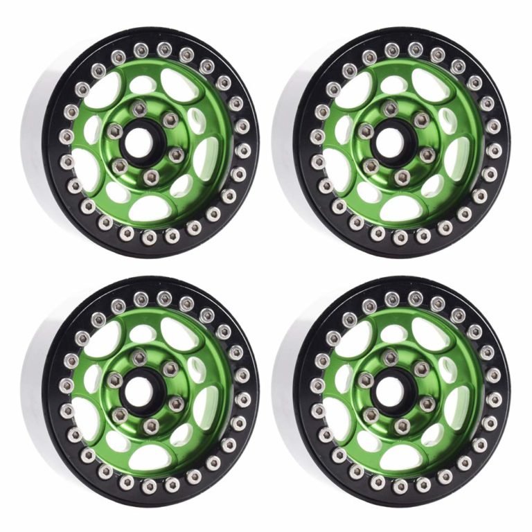 "4PCS Metal 1.9"" Beadlock Wheel Rims for 1/10 Scale Rc Crawler"