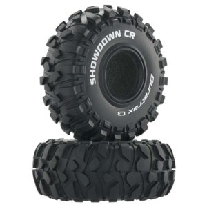 Duratrax Showdown 2.2 Inch RC Rock Crawler Tires