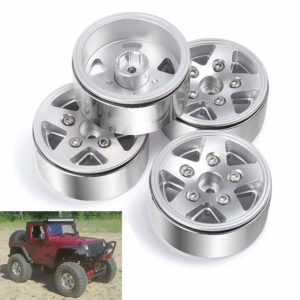 RC Crawler Tires Aluminum Metal 4PCS 1.9