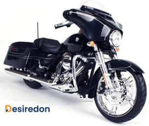 2015 Harley Davidson Street Glide black collectible motorcycle