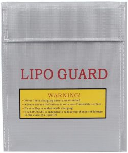 Aexit RC LiPo Battery Safety Guard Fireproof Charging Bag