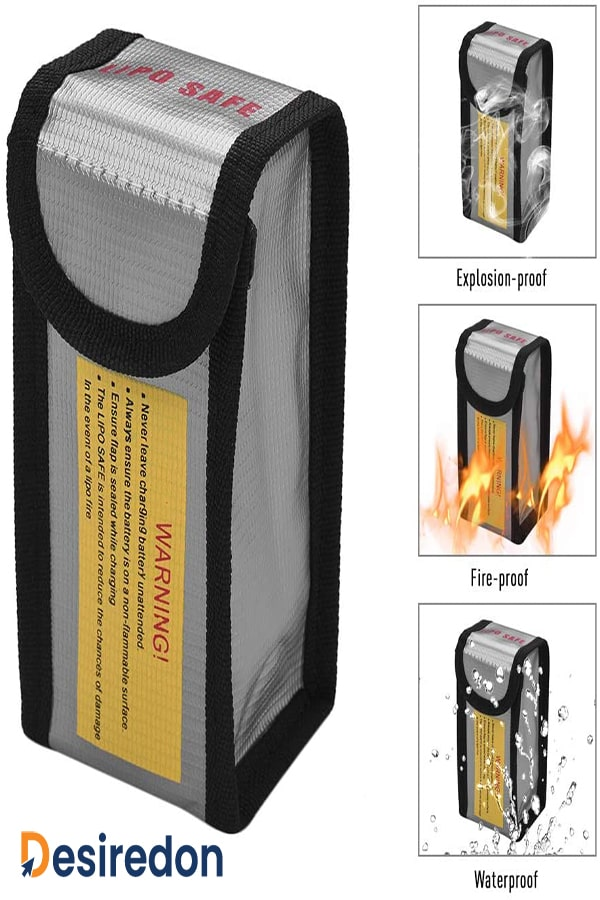 Best Lipo fireproof battery bags