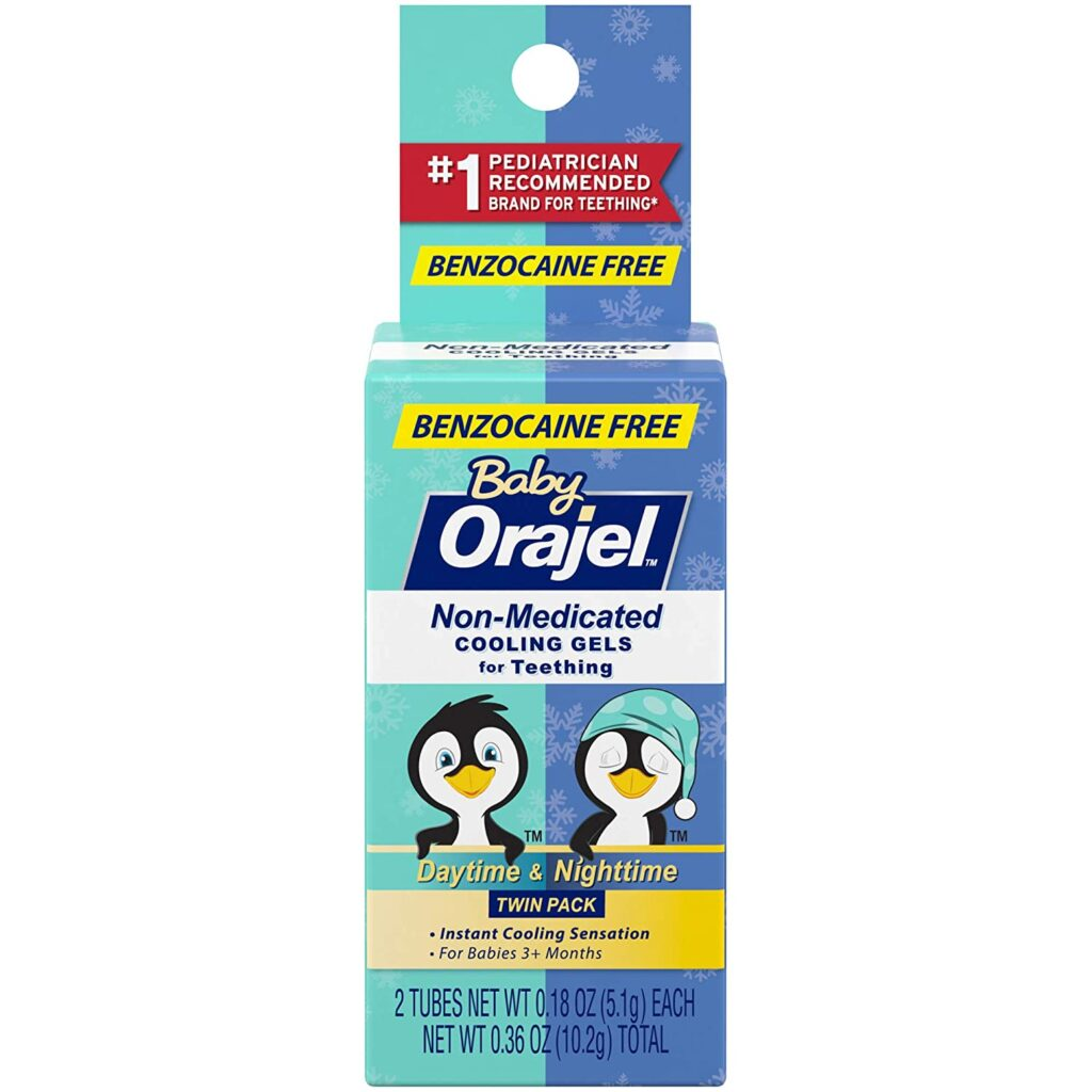 Orajel Non-medicated Cooling Gel
