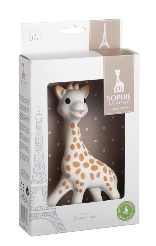 Vulli Sophie The Giraffe New Box