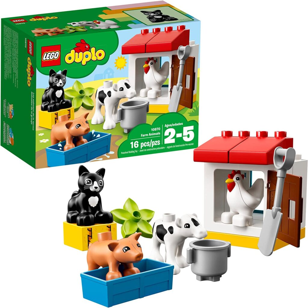 LEGO DUPLO Town Farm Animals 10870 Building Blocks