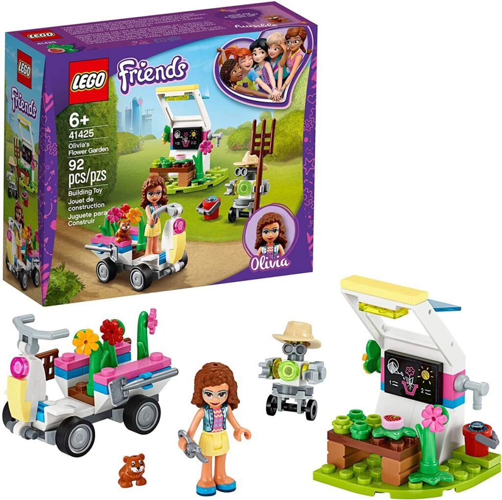 LEGO Friends Olivia's Flower Garden 41425 Building Toys