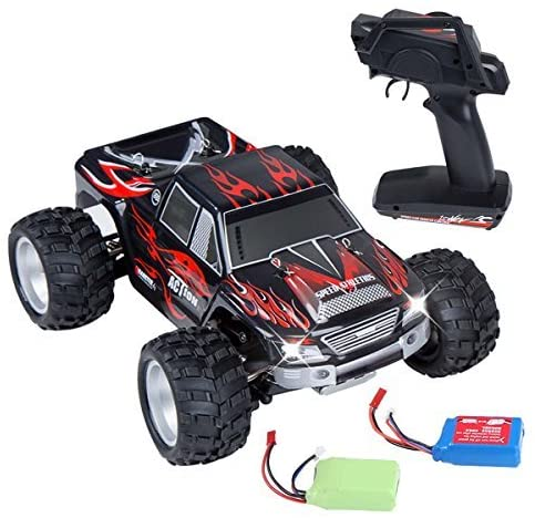 Distianert 1/18 Scale 4WD RC Car Electric Racing Car Off-Road RC Monster Truck